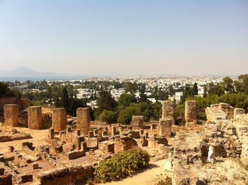 Today you can see only the ruins of the once powerful Carthage
