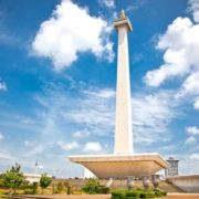 A symbol of Indonesia's independence from the colonial invaders of the past