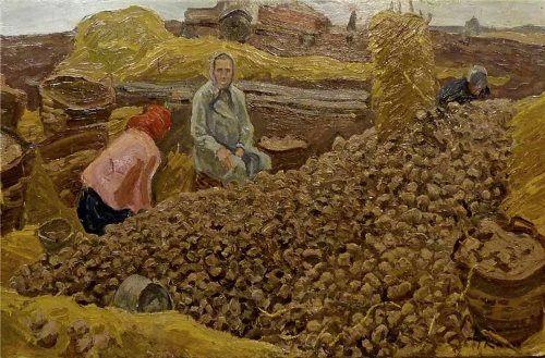 Alexey and Sergei Tkachev. Potato. 1970