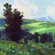 Altai. Mountain valley. 1909