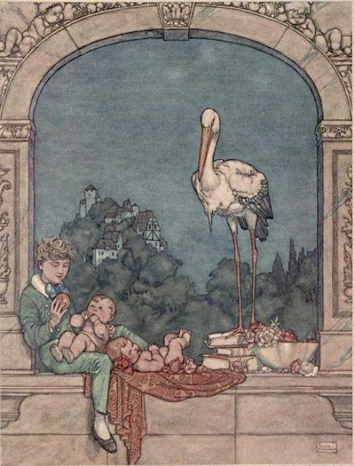 Andersen's fairy tale. Robinson