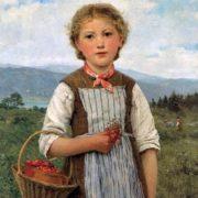 Anker Albert. The strawberry Mareili