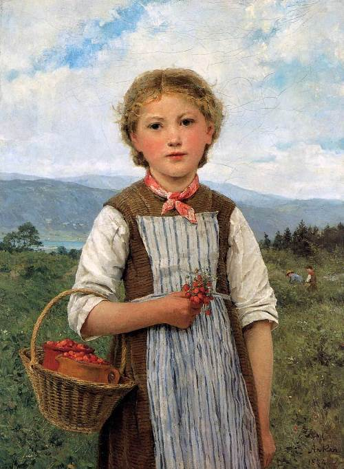 Anker Albert. The strawberry Mareili