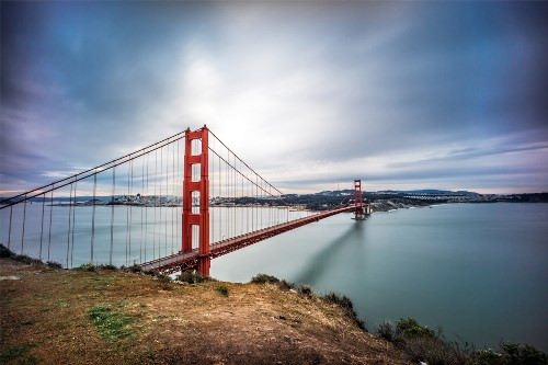 Attractive Golden Gate Bridge