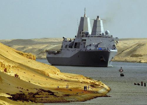 Attractive Suez Canal