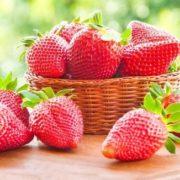 Attractive strawberry