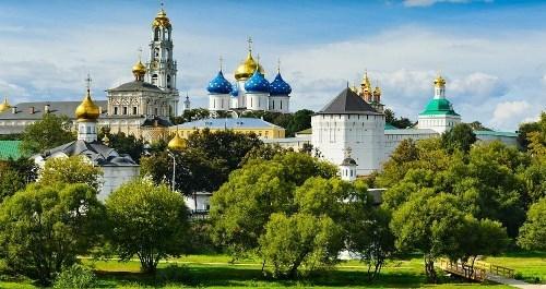 Awesome Trinity Lavra of St. Sergius