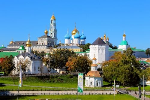 Beautiful Trinity Lavra of St. Sergius