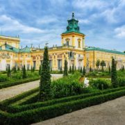 Beautiful Wilanow Palace