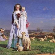 Braun Ford Medoks. Ford Madox Brown The Pretty Baa Lambs