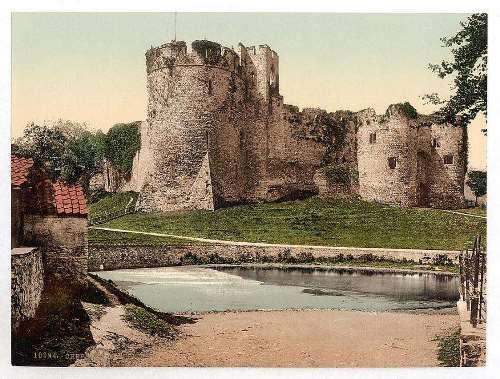 Castle, Chepstow, Wales