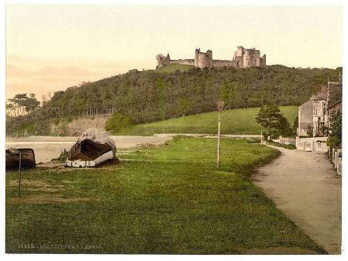 Castle, Llanstephen, Wales