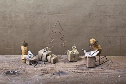 Christmas in a family of nuts. Photo by Nailia Schwarz