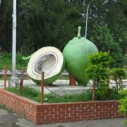 Coconut Monument in Kudat, Malaysia