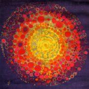 Danish Sodahl sunburst textile