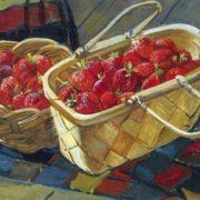 Deineka Alexander. Strawberry. 1955