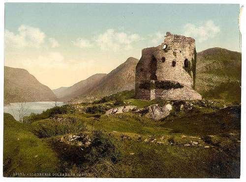 Dolbadarn Castle, Llanberis, Wales