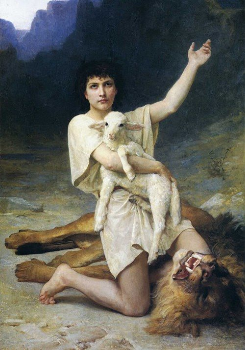 Elizabeth Jane Gardner. The Shepherd David (circa 1895).