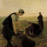 Ernest Masson. The Potato Harvest.