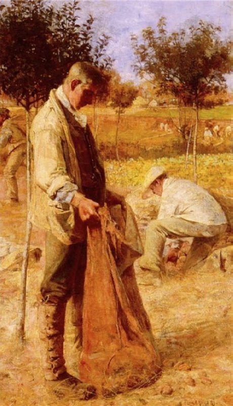 Flora MacDonald Reid. The Potato Harvesters.