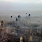 Fog in Shanghai