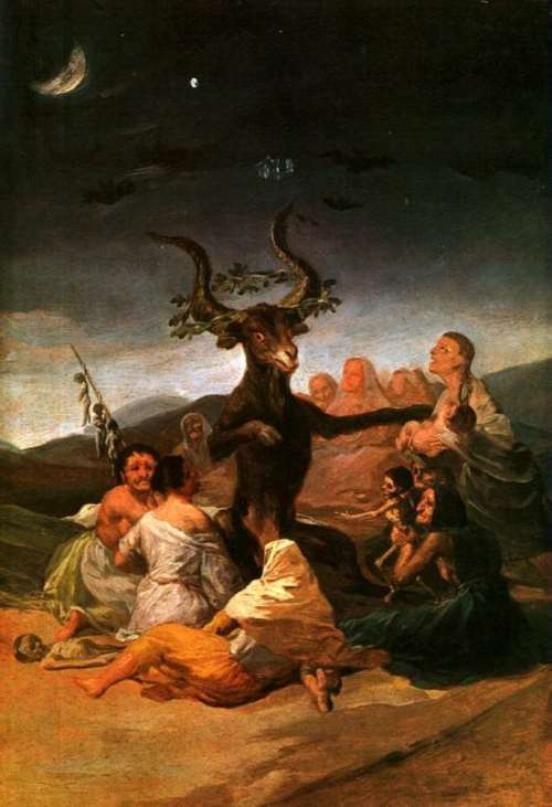 Francisco Goya. Witches' Sabbath