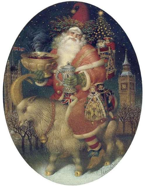 Gennady Spirin, Santa Claus in London
