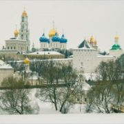 Gorgeous Trinity Lavra of St. Sergius