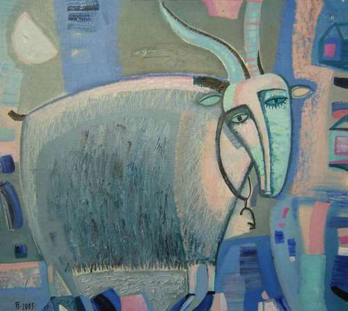 Gorshunova Tatiana. Moonlight Goat