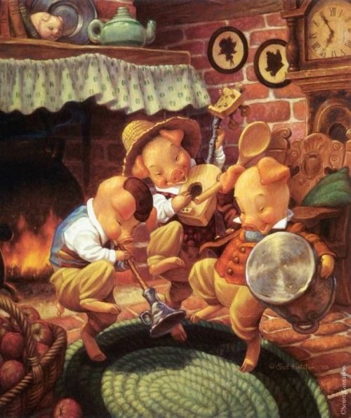 Gustafson Scott-Three Little Pigs