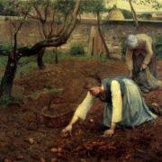 Guy Rose. The Potato Gatherers. 1891