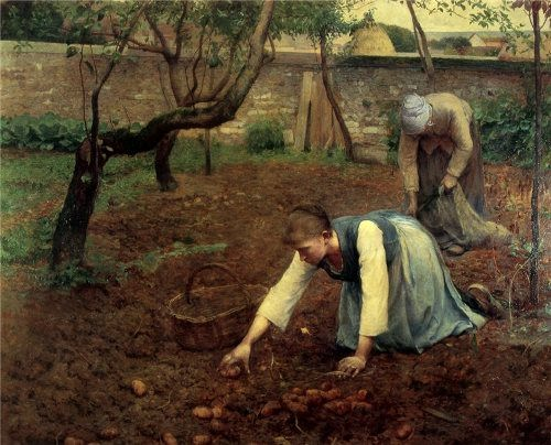 Guy Rose. The Potato Gatherers. 1891