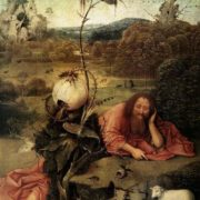 Hieronymus Bosch. John the Baptist in the Wilderness, 1505