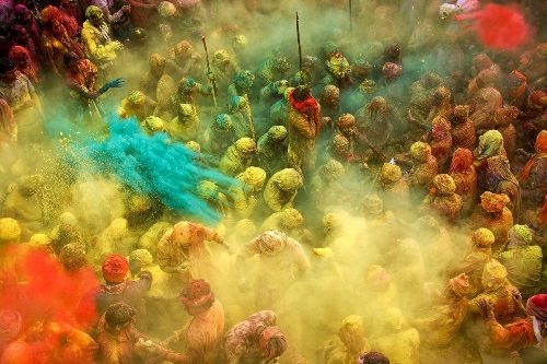 Holi or the Festival of Colors