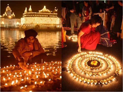 Indian festival of lights - Diwali