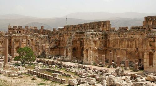 Inside Baalbek