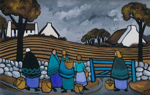 J. P. Rooney The Potato Gatherers.