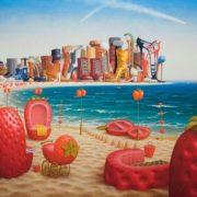 Jacek Yerka. Strawberry Beach