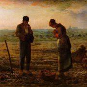 Jean Francois. Millet The Angelus. 1857-59