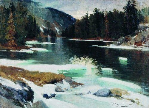 Karakol Lake. 1909