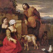 Karel Dujardin. Die kranke Ziege