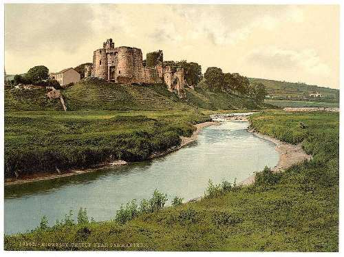 Kidwelly Castle, Carmarthen, Wales