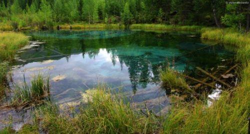 Lake of Geysers