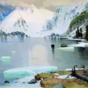 Lake of mountain spirits. 1910