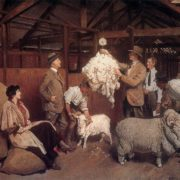 Lambert, George - Weighing the Fleece