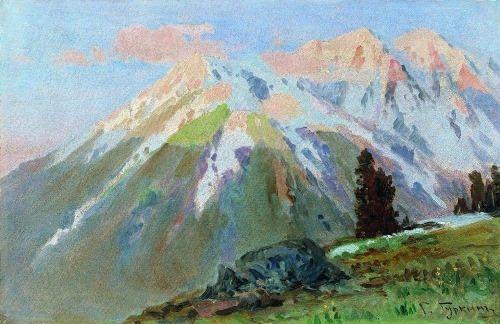 Landscape. 1920s