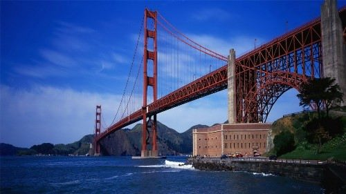 Magnificent Golden Gate Bridge