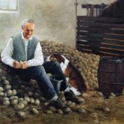 Martin Driscoll. Sorting Seed Potatoes.