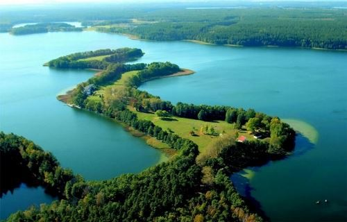Masurian Lakes - a natural landmark of Poland