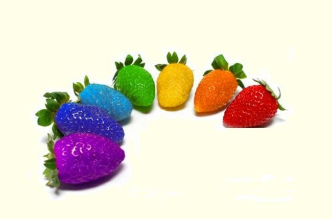 Meanwhile, along with blue strawberries, there are other types of genetically modified berries